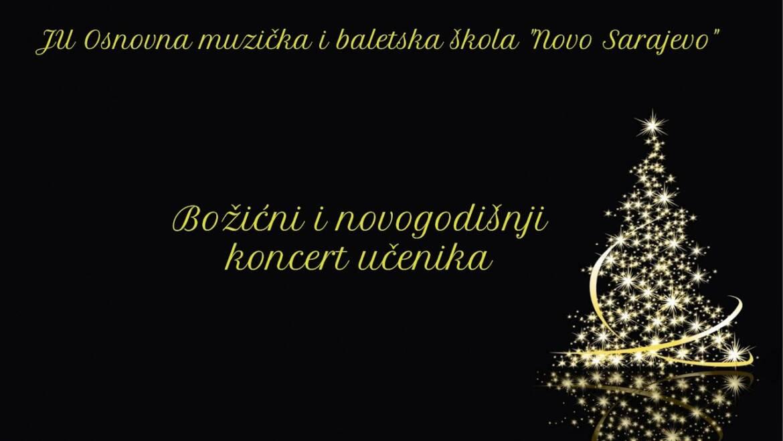 """Božićni i Novogodišnji koncert OMBŠ """"Novo Sarajevo"""""""